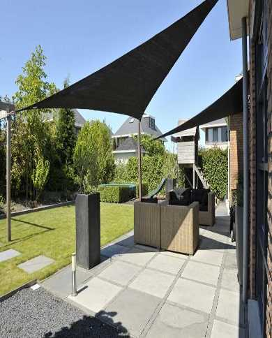 Pare vue métal Corten bambou 180x105cm