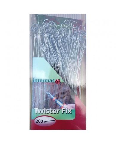200 attaches de fixation brise vue Twister Fix