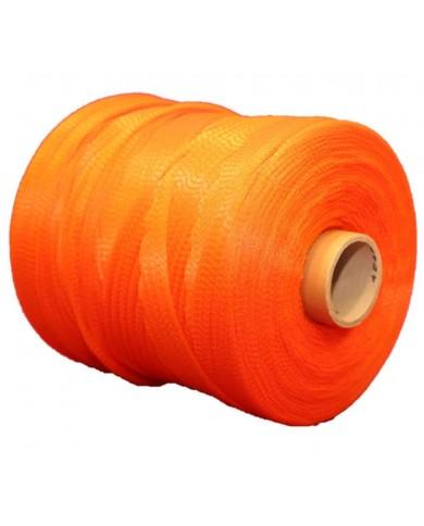 Filet tubulaire extrudé orange (2 bobines)