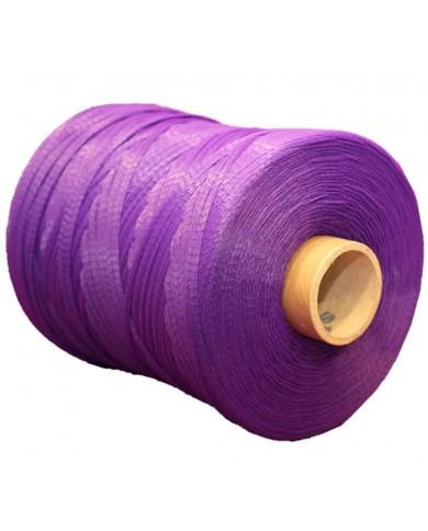Filet tubulaire extrudé violet (2 bobines)