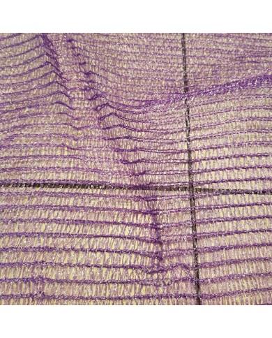 Sac filet tricoté raschel violet 48x65cm (200)