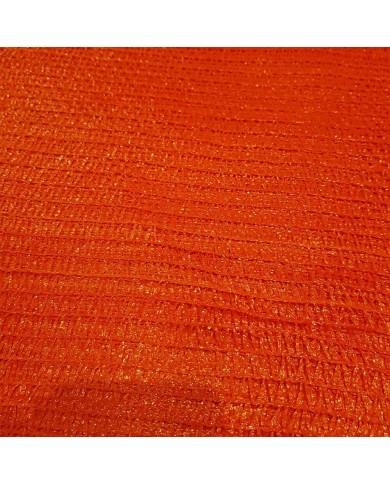 Sac filet tricoté raschel orange 43x62cm (100)