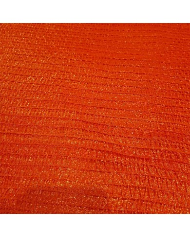 Sac filet tricoté raschel orange 40x60cm (200)
