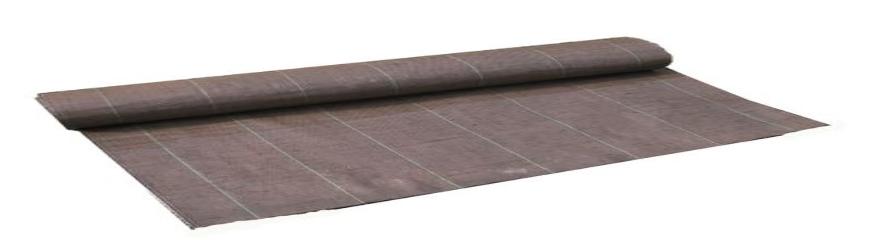Longueur 20m Largeur 5,15m 130g//m2 Toile Bache de paillage tissée Grande Largeur